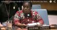 Présentation de Mme Julienne Lusenge sur la situation des femmes congolaises